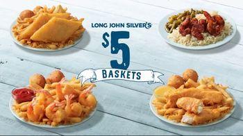 Long John Silver's $5 Baskets TV Spot, 'Sail In' - Thumbnail 3