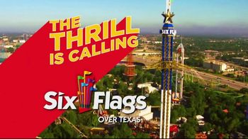 Six Flags TV Spot, 'The Thrill is Calling'