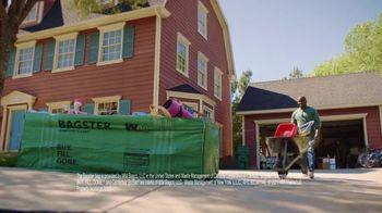 Waste Management Bagster Bag TV Spot, 'Dumpster in a Bag' - Thumbnail 3