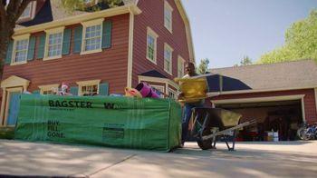 Waste Management Bagster Bag TV Spot, 'Dumpster in a Bag' - Thumbnail 4