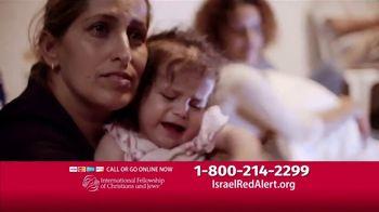 International Fellowship Of Christians and Jews TV Spot, 'Israel Red Alert' - Thumbnail 3