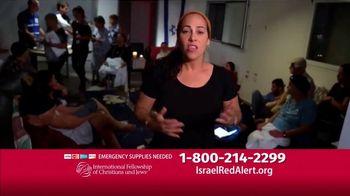 International Fellowship Of Christians and Jews TV Spot, 'Israel Red Alert' - Thumbnail 6