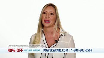 Power Swabs TV Spot, 'Wave a Magic Wand: 40% Off' - Thumbnail 6