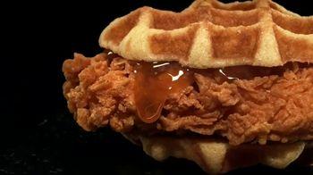 Carl's Jr. Hand-Breaded Chicken & Waffle Sandwich TV Spot, 'Wild'