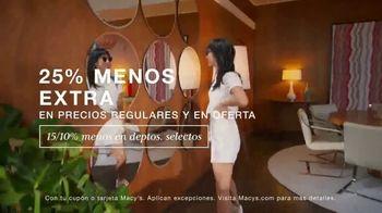 Macy's TV Spot, 'Moda de verano: 25% menos' canción de Max Styler [Spanish] - Thumbnail 4