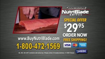 Granite Stone NutriBlade Knives TV Spot, 'Secret of Every Great Chef: Free Shipping' - Thumbnail 10