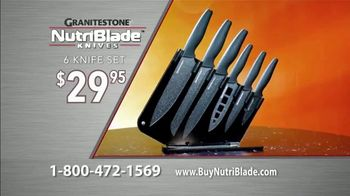 Granite Stone NutriBlade Knives TV Spot, 'Secret of Every Great Chef: Free Shipping' - Thumbnail 9