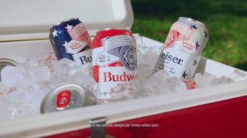 Budweiser TV Spot, 'Memorial Day: Summer Patriotic Cans' - Thumbnail 8