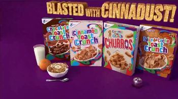 Cinnamon Toast Crunch TV Spot, 'Flavors Blasted With Cinnadust' - Thumbnail 8