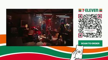 7-Eleven TV Spot, 'Take It to Eleven With 24/7 Delivery: $5 Large Pizza: QR' Featuring Yip Yops
