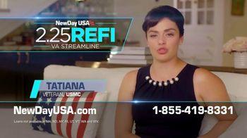 NewDay USA 2.25 Refi VA Streamline TV Spot, 'Lowest Ever'