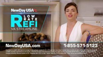 NewDay USA Low Rate Refi VA Streamline TV Spot, 'Dropped Again'