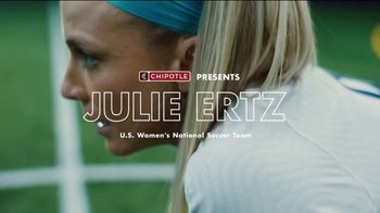 Chipotle Mexican Grill TV Spot, 'My Number One Focus' Featuring Julie Ertz - 22 commercial airings