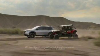 Honda TV Spot, 'Every Road Has Its Challenges: Passport, Pilot, CR-V' Song by Vampire Weekend [T1] - Thumbnail 2