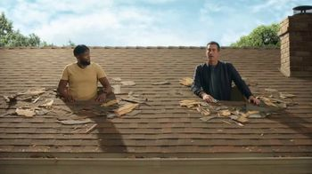 Veterans United Home Loans TV Spot, 'Through The Roof Reviews with Rob Riggle and Ekwele'