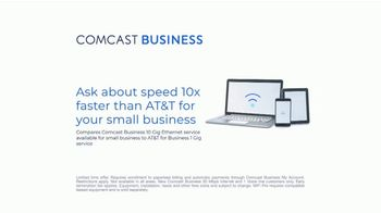 Comcast Business TV Spot, 'New Day: Internet and Voice for $35: Speed' - Thumbnail 9