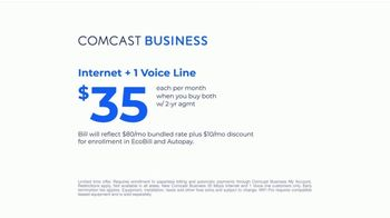 Comcast Business TV Spot, 'New Day: Internet and Voice for $35: Speed' - Thumbnail 8