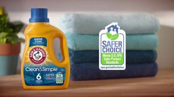 Arm & Hammer Laundry Clean & Simple TV Spot, 'Inspired By You' - Thumbnail 4