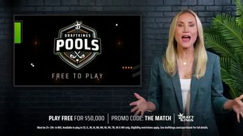DraftKings TV Spot, 'The Match: Play Free for $50,000' - 15 commercial airings