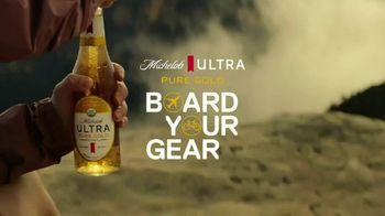 Michelob ULTRA Pure Gold Board Your Gear Sweepstakes TV Spot, 'This Summer, Your Gear Flies on Us'