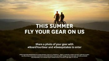Michelob ULTRA Pure Gold Board Your Gear Sweepstakes TV Spot, 'This Summer, Your Gear Flies on Us' - Thumbnail 7