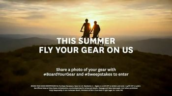 Michelob ULTRA Pure Gold Board Your Gear Sweepstakes TV Spot, 'This Summer, Your Gear Flies on Us' - Thumbnail 8