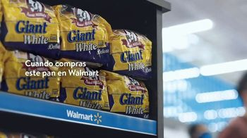 Walmart TV Spot, 'Pan' [Spanish]