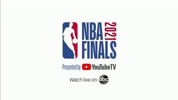 YouTube TV TV Spot, '2021 NBA Finals: Key Plays' - Thumbnail 7