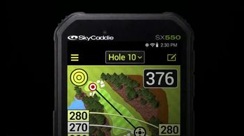 Sky Caddie SX550 TV Spot, 'Has You Covered' - Thumbnail 1