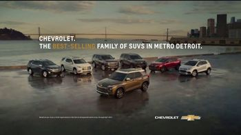 Chevrolet Open Road TV Spot, 'Family of SUVs: Drive Safe' Song by Shane Alexander [T2] - Thumbnail 7