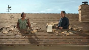 Veterans United Home Loans TV Spot, 'Through The Roof Reviews With Rob Riggle and Cheryl'