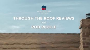 Veterans United Home Loans TV Spot, 'Through The Roof Reviews With Rob Riggle and Cheryl' - Thumbnail 1