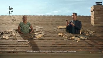 Veterans United Home Loans TV Spot, 'Through The Roof Reviews With Rob Riggle and Cheryl' - Thumbnail 4