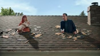 Veterans United Home Loans TV Spot, 'Through the Roof Reviews with Rob Riggle and Ariel'