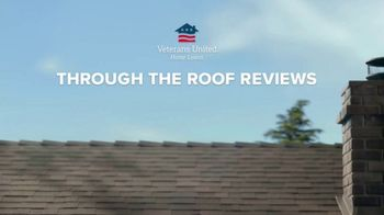 Veterans United Home Loans TV Spot, 'Through the Roof Reviews with Rob Riggle and Ariel' - Thumbnail 1