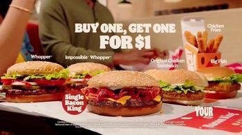 Burger King Bacon King TV Spot, 'Whisper'