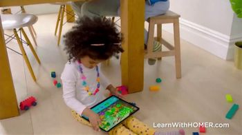Learn with Homer TV Spot, 'Littlest Learners Practice Crucial Skills'
