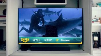 GEICO TV Spot, 'Discovery Channel: Shark Week: Get Yourself a Cage' - Thumbnail 9