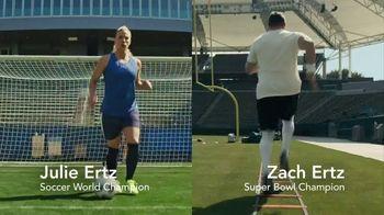 Sleep Number TV Spot, 'Sleep Smarter and Play Better' Featuring Zach Ertz, Julie Ertz - 1262 commercial airings