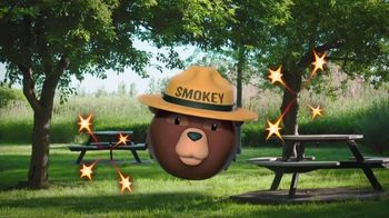 Smokey Bear Campaign TV Spot, 'Isabella Gomez Helps Smokey' - Thumbnail 10