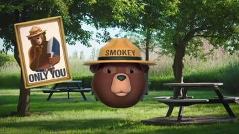 Smokey Bear Campaign TV Spot, 'Isabella Gomez Helps Smokey' - Thumbnail 3