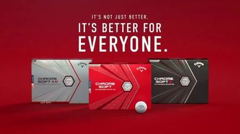 Callaway Chrome Soft TV Spot, 'Better' Ft. Jon Rahm, Xander Schauffele, Phil Mickelson - Thumbnail 10