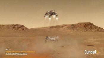 CuriosityStream TV Spot, 'Perseverance: Countdown to Impact'