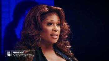 SeeHer TV Spot, 'Our Stories' Featuring Peppermint