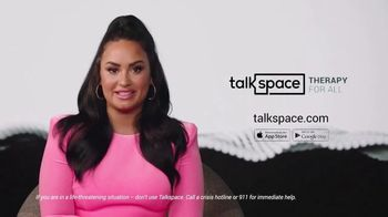 Talkspace TV Spot, 'More Important Than Ever' Featuring Demi Lovato - Thumbnail 10