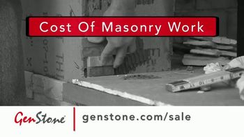 GenStone Spring Sale TV Spot, 'Save Up to 50% Over Masonry Stone and Brick'
