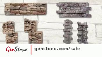GenStone Spring Sale TV Spot, 'Save Up to 50% Over Masonry Stone and Brick' - Thumbnail 2