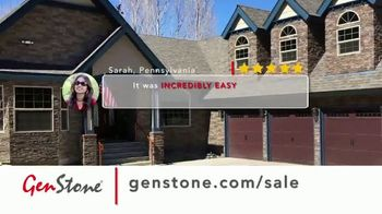 GenStone Spring Sale TV Spot, 'Save Up to 50% Over Masonry Stone and Brick' - Thumbnail 3