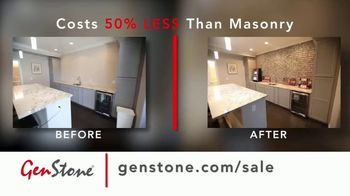 GenStone Spring Sale TV Spot, 'Save Up to 50% Over Masonry Stone and Brick' - Thumbnail 8