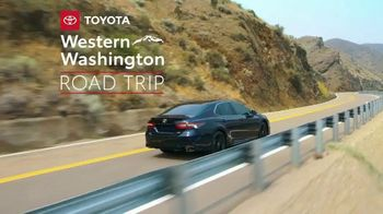 2021 Toyota Camry TV Spot, 'Western Washington Road Trip: Power and Style' Featuring Ethan Erickson, Danielle Demski [T2] - Thumbnail 1